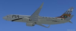 FSX PIA Boeing 737-800 Gwader New Port City image 2
