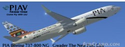 FSX PIA Boeing 737-800 Gwader New Port City image 1