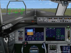 FSX Aircraft: Emirates Airbus A350-900 image 2