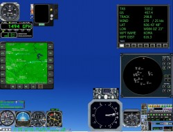 fsx Version 2.1 Analog Mini Panel image 2