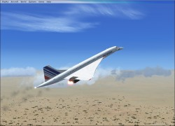 FSX Concorde with 5 Paint Jobs image 1