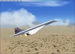 FSX Concorde with 5 Paint Jobs image 2