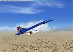 FSX Concorde with 5 Paint Jobs image 3