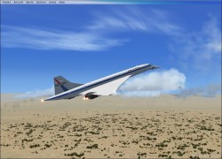 FSX Concorde with 5 Paint Jobs image 4