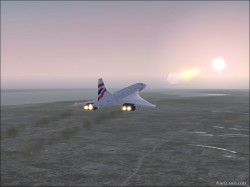 FSX Concorde with 5 Paint Jobs image 5