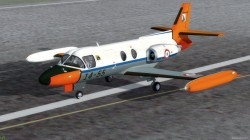 P3D FSX Piaggio PD-808RM & Base Pack image 1