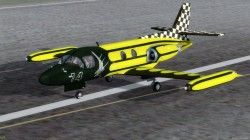 P3D FSX Piaggio PD-808RM & Base Pack image 3
