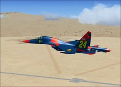 FSX SU-34 with 3 paint schemes Adapted FSX image 1