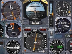 Fs2002 Real Concorde Gauges/Instruments Set image 1
