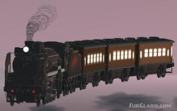 FS2002/FS2004 JNR Steam Locomotive D51 Galaxy image 1