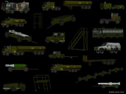 FS2002 / FS2004 / FSX Military Scenery Objects v2 image 1