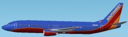 Fs2002 Southwest Airlines Boeing 737-400 image 1