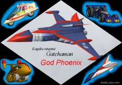 FS2002/FS2004 God Phoenix G1 - G5 Science image 1