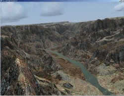 FSX Flight Plan flight Grand Canyon image 2