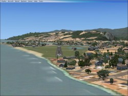 FSX Greymouth Airport NZGM image 2