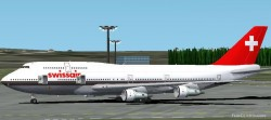 Project Opensky Boeing 747-300 Fs2002 image 1