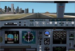 FS2002 Airbus A-340 Panel Version 2 image 1