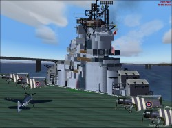 FS2004/FS2002 Panel aircraft carrier USS image 3