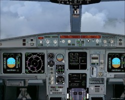 FS2004 - picturereal Panel Airbus A-330 with image 1