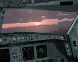 FS2004 - picturereal Panel Airbus A-330 with image 2