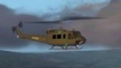FS2002 Bell UH-1H Huey Ver2.0! Repaint: image 1