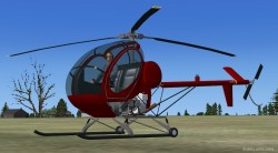 Hughes 269C FEATURES fully Native FSX image 2