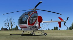 Hughes 269C FEATURES fully Native FSX image 3