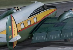 Howard 500 with Virtual Cockpit FS2004 image 1