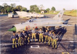 INDIAN AIR FORCE MIG OPERATIONAL FLYING image 1