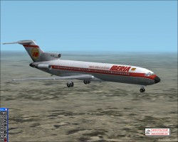 FS2002 Aircraft.Boeing 727-200 Adv Iberia image 1