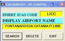 ICAO2AIRPORT version 2 image 1