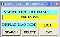 ICAO2AIRPORT version 2 image 3