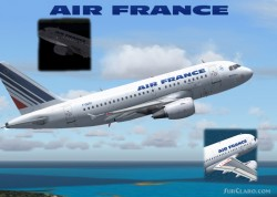 -iFDG Airbus A318 Air France- iFDG proud image 1