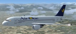 FS2004 AirOne Airbus A320-214 image 1