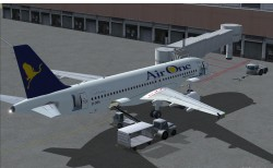 FS2004 AirOne Airbus A320-214 image 2