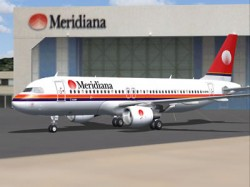 Meridiana A320-200 CFM iFDG Airbus A320 image 1