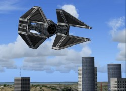 Intercepteur Tie Fighters FS2002/2004 image 1