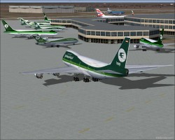 fictional Iraqi Airways flight plans image 1