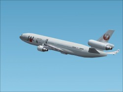 -painted Japan Airlines J-bird image 1