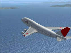 FSX Boeing 747-400 JAL airlines International image 5