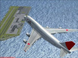 FSX Boeing 747-400 JAL airlines International image 6