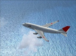 FSX Boeing 747-400 JAL airlines International image 7
