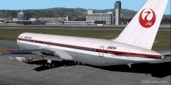 Fs2002 Japan Air Lines 80s Boeing image 1