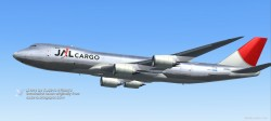 PROJECT OPEN SKY BOEING 747-8F V4B FS2004 image 1