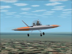 FS2002 Unreal Aviation Jetson IV Flying image 1
