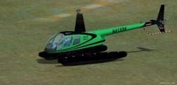 ClipperEF Black w/dark green stripes justflight image 1