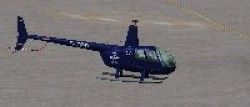 FS2004/FSX Robinson R44 helicopter NAvy image 1