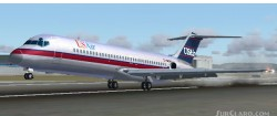 FS2004 Aircraft USAir USAirways and image 2