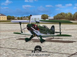 Viper Pitts S2S Aerobatic Aircraft FSX image 4