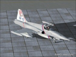 FS2004 DSB texture exclusively Dutch NF-5A image 1